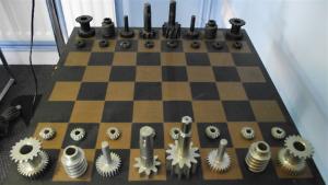 schaakbord Gibbs